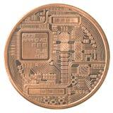 Bitcoin Fotografie Stock