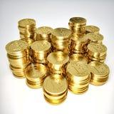 Bitcoin Obrazy Royalty Free