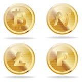 Bitcoin Royaltyfria Foton