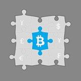 Bitcoin Immagine Stock