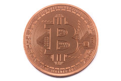 Bitcoin Photographie stock libre de droits