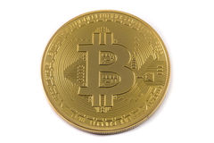 Bitcoin Imagem de Stock