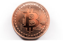 Bitcoin Imagens de Stock