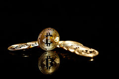 Bitcoin stock foto