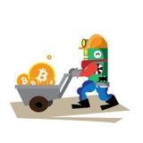 Bitcoin Foto de archivo libre de regalías