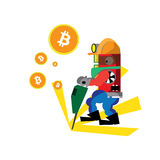 Bitcoin Imagenes de archivo
