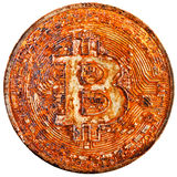 Bitcoin is already over Stock Image