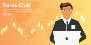 Bitcoin Azienda agricola di estrazione mineraria di Digital Cryptocurrency Bandiera di tecnologia Immagini Stock Libere da Diritti