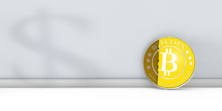 Bitcoin Royalty Free Stock Photos