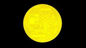 Bitcoin blockchain crypto netwerk van de munt het digitale encryptie voor wereldgeld, alfakanaal vector illustratie