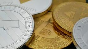 Bitcoin BTC, Ethereum ETH and Litecoin LTC coins