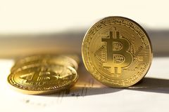Bitcoin buy or sell stock photography