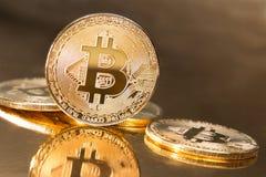 Bitcoin coin royalty free stock photo