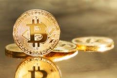 Bitcoin coin stock photos