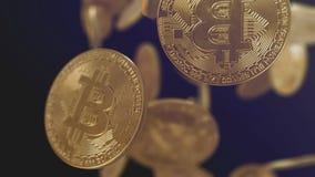 Bitcoin coin render 3D