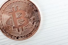 New virtual money. Cryptocurrency. Stock Images
