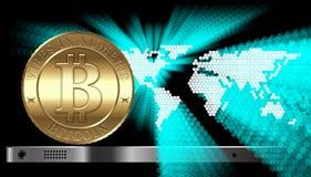 Bitcoin Concept Stock Image