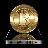 Bitcoin Concept Royalty Free Stock Photography