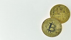 Bitcoin crypto currency electronic money image closeup. stock photography