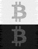 Bitcoin cryptocurrency 图库摄影
