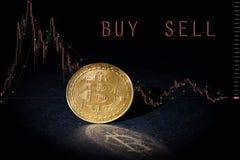 Bitcoin Cryptocurrency btc zdjęcia stock