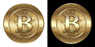 Bitcoin Royalty Free Stock Photography