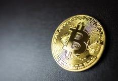 Bitcoin crypto currency Royalty Free Stock Photos
