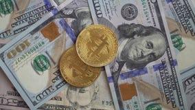 Bitcoin Cyfrowy dolar i pieniądze zbiory