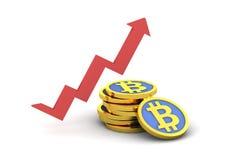 Bitcoin 3d Royalty Free Stock Photography