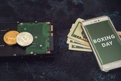 Bitcoin-26. Dezember Stockbilder