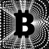 Bitcoin - electronic form of money and innovative payment network Stock Photos