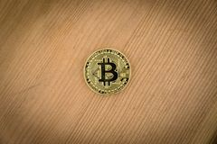 Bitcoin Encrypted money virtual money Exchange Speculate Future. Virtual money Exchange Stock Photos