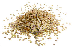 Bitcoin and Ethereum - Virtual Money Stock Photo