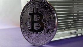 Bitcoin i heatsink Obrazy Stock