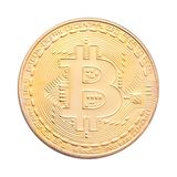 Bitcoin a isolé images stock