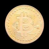 Bitcoin isolerade Royaltyfria Bilder