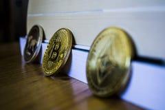 Bitcoin jest Z powrotem fotografia royalty free