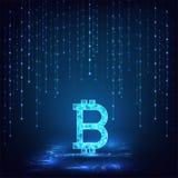 Bitcoin-Konzept Lizenzfreie Stockfotos