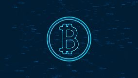 Bitcoin-Konzept Stockbild