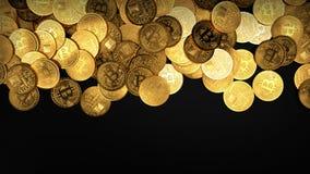 Bitcoin-Konzepthintergrund