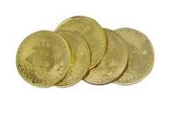 Bitcoin A maneira nova de moeda do bitcoin do negócio é pagamento no mercado empresarial global fotos de stock royalty free