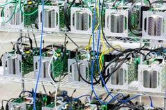 Bitcoin mining Royalty Free Stock Image