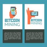 Bitcoin mining. World map. The circulation of bitcoins in the world. Vector illustration. vector illustration