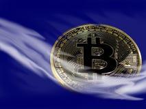 Bitcoin misterioso foto de stock royalty free