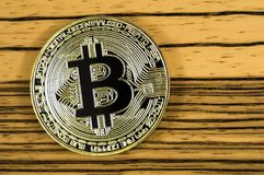 Bitcoin is a modern way of exchange and this crypto currency Stock Images