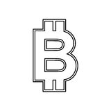 Bitcoin Money currency Stock Photo