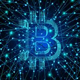 Bitcoin Network Stock Images
