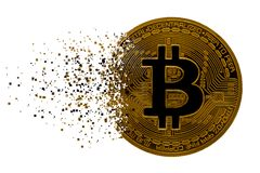 Bitcoin Stock Photography