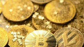 Bitcoin Spada puszek i Błyszczy przeciw Lekki Makro- zbiory