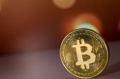 bitcoin Symbol Lizenzfreies Stockfoto